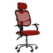 Scafi Red Office Chair
