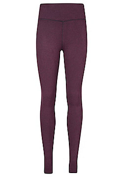 Mountain Warehouse IsoCool Dynamic Herringbone Womens Leggings - Red