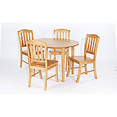 Home Zone Nastro 5 Piece Dining Set