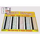 Zoobookoo Division in Order Math Magic Mat