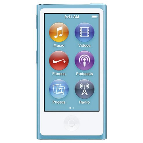 Apple 16GB (7th Gen) nano iPod Blue