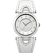 Karen Millen Ladies Leather Strap Watch - KM110W