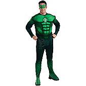 Green Lantern Hal Jordon Deluxe - Adult Costume Size: 40-42