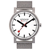 Mondaine Gents Evolution Bracelet Watch A658.30300.11SBV