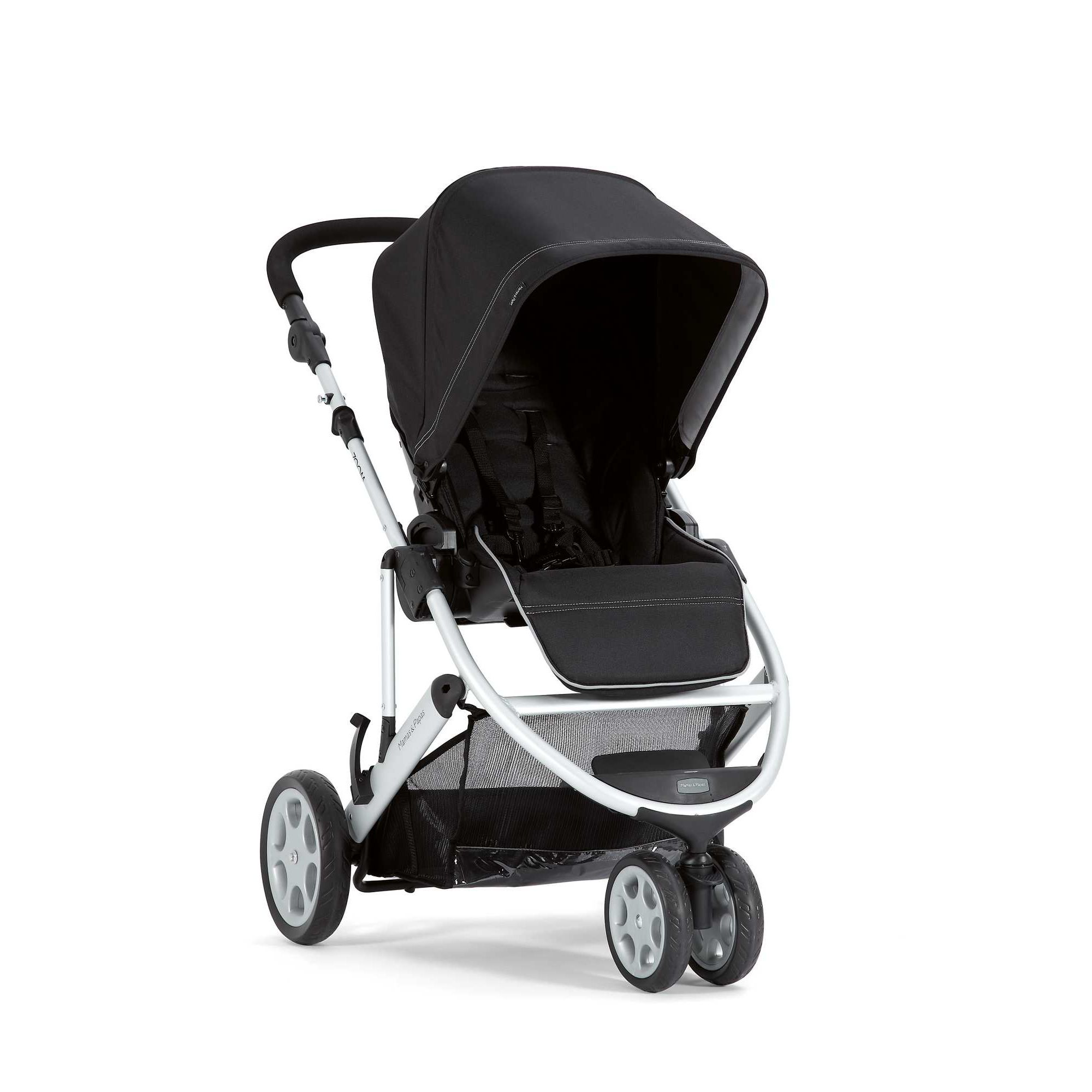 Mamas & Papas - Zoom Pushchair Package - Black/Charcoal at Tesco Direct
