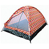Tesco 2-Man Festival Tent, Jelly Bean