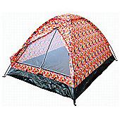 Tesco 2-Person Festival Tent, Jelly Bean