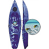 Riber One Man Sit on Top with Porthole (Blue & White)