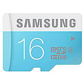 Original Samsung 16GB MicroSDHC Memory Card Class 6 Fast Speed - Water Proof - MB-MS16D