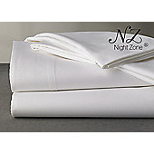 "Nightzone Super King 800 Thread Count 16"" Deep Skirt Egyption Sateen Cotton Luxury Fitted Sheet"