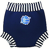 Splash About Happy Nappy XX Large (Navy White)