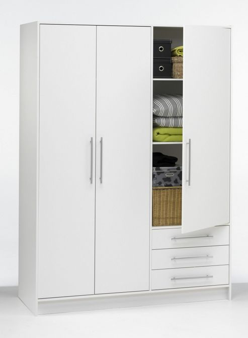 Tvilum Focus Wardrobe with Drawer