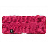Cable Knit Audio Headband with In Line Mic