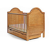 Obaby B is for Bear Cot Bed & Under Drawer - Country Pine