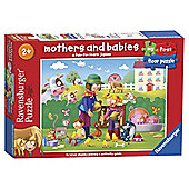 Ravensburger My First Floor Puzzle, Baby Animals, 16 Piece Puzzle