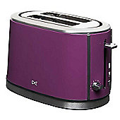 Daewoo DST2A3P Two-Slice Toaster - Purple