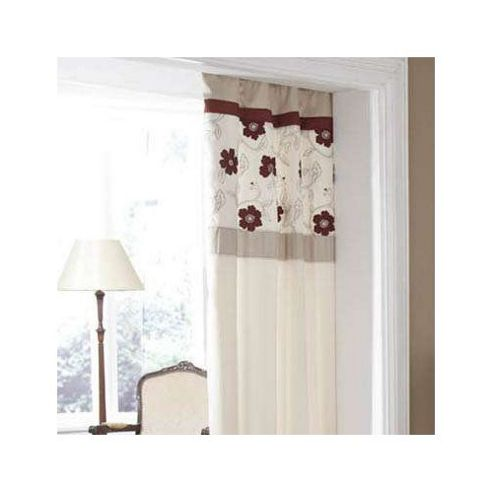 Catherine Lansfield Alicia Curtains in Paprika
