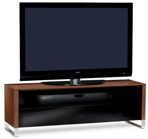 BDI Natural Walnut TV Cabinet for up to 70 inch TVs