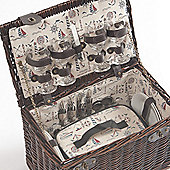 Willow Picnic Basket for 4 People