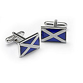Scottish Flag Novelty Themed Cufflinks