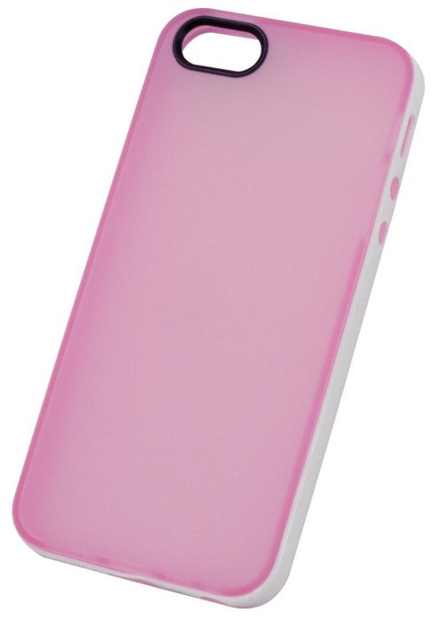 Tortoise™ Soft Gel Case iPhone 5 Frosted Pink