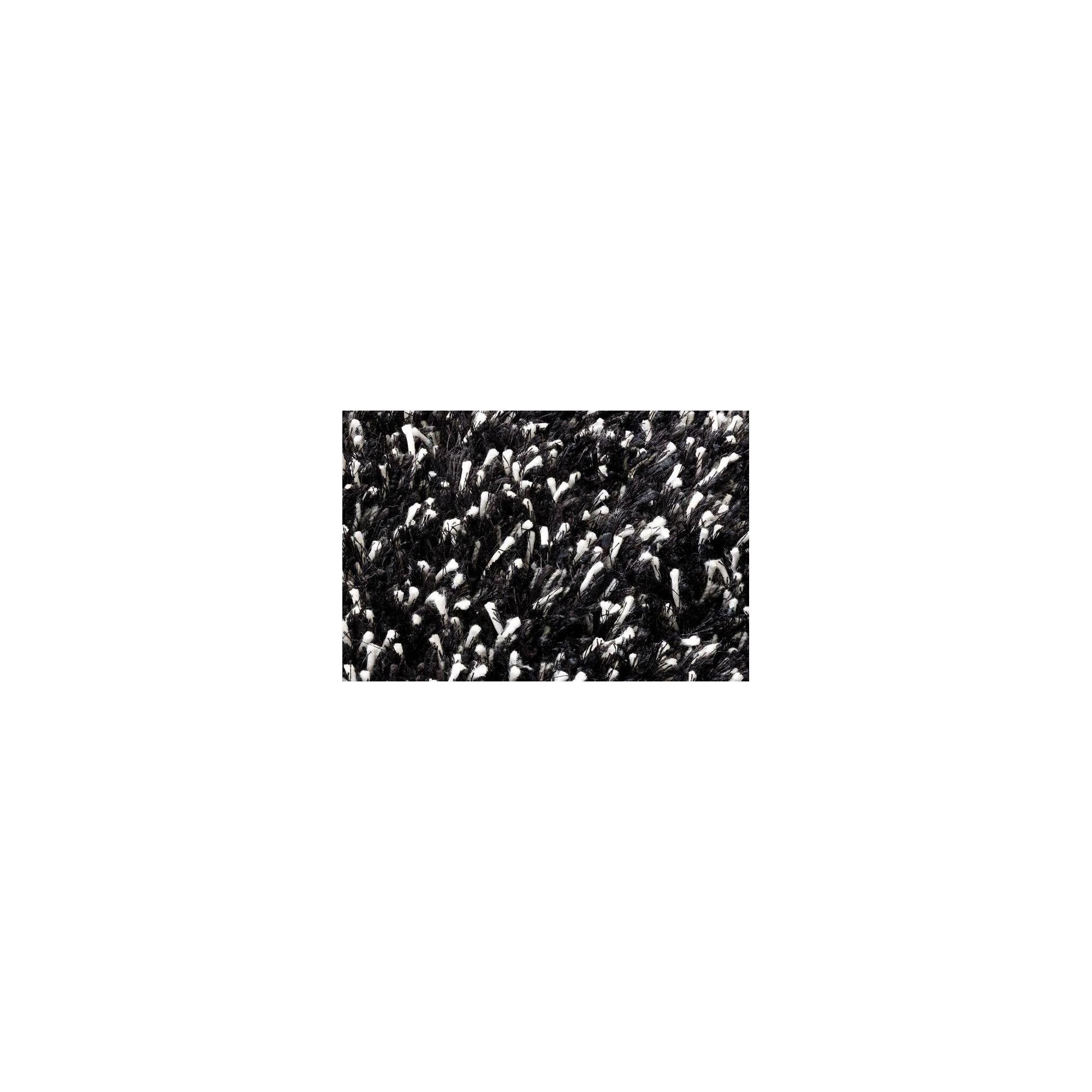 Linie Design Ronaldo Black Shag Rug - 240cm x 170cm at Tesco Direct
