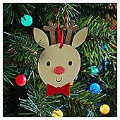 Reindeer Character Christmas Tree Decoration