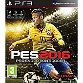 Pro Evolution Soccer 2016 Day One Edition PS3 (Free PES 2016 20th anniversary football with every Pre-order)