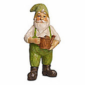 Gned The Wood Look Resin Garden Gnome Ornament