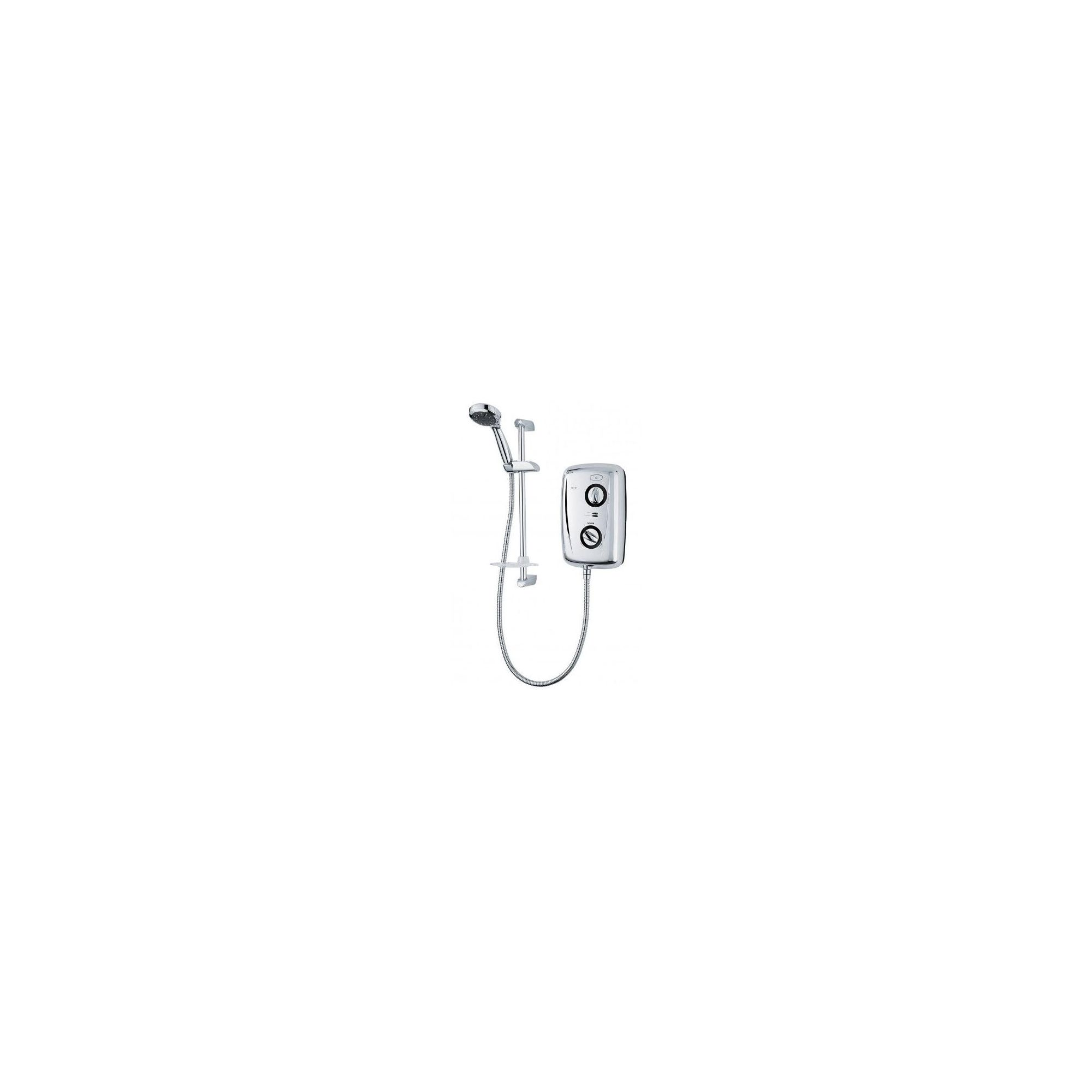 Triton T80Z Thermostatic Electric Shower 10.5kw Chrome Plated at Tesco Direct