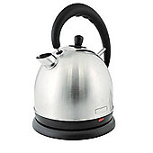 Lloytron E1509SS 1.8 litre 3kw Cordless Domed Kettle - Stainless Steel