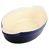 Denby Ceramic Medium Oval Dish, Imperial Blue