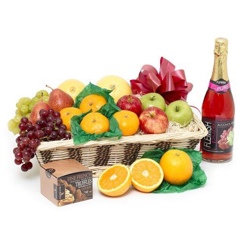 get well soon fruit basket (FB16)