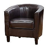 Sofa Collection Abbeville Tub Chair - Brown