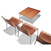 Parri Big Easy Lounge Chair - Lacquer - Zebrano