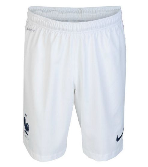 2014-15 France Nike Home Shorts (White) - Kids