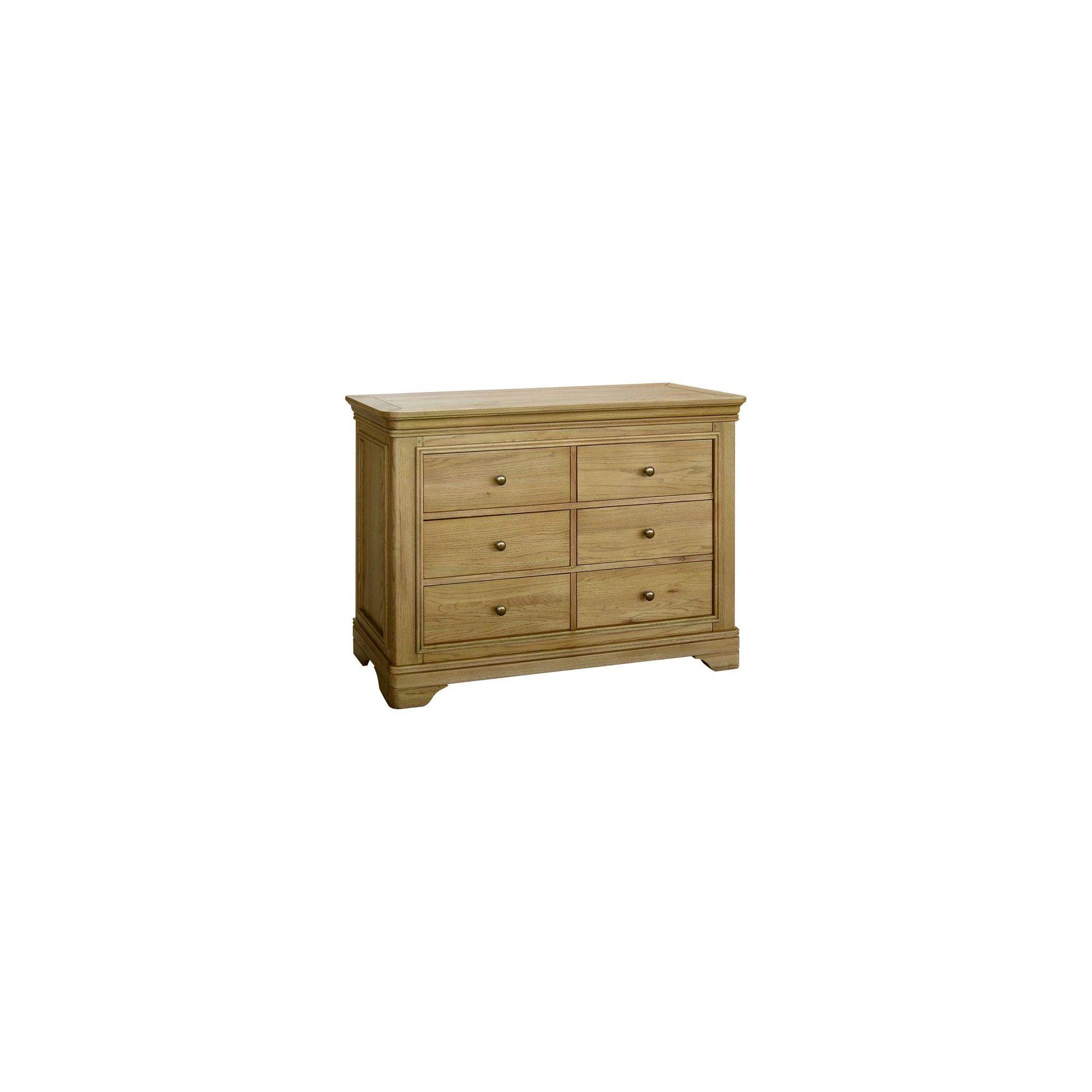 Kelburn Furniture Loire 6 Drawer Chest at Tesco Direct