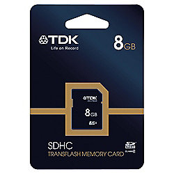 TDK SDHC Memory Card 8GB