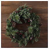 TESCO TRADITIONAL WREATH 20 INCHES
