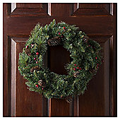 Tesco Traditional Wreath, 50cm