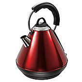 Tesco TRADSS13R Pyramid Kettle Red
