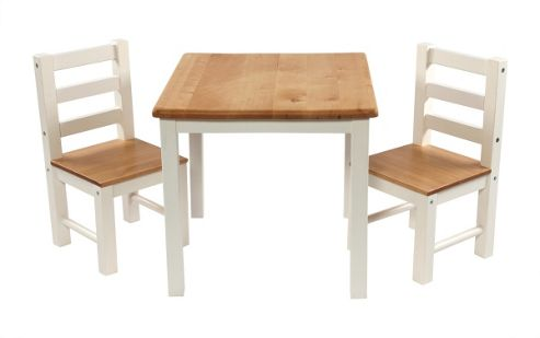 Buy First Baby Safety Niels Table And Chair Set In White