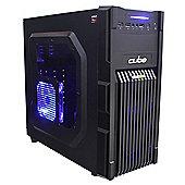 Cube Corporal Gaming PC AMD A8 7670K Quad Core with Radeon R7 360 2Gb Graphics Card & 16Gb Memory Desktop AMD Seagate 1Tb 7200RPM Hard Drive Windows 8