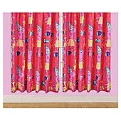 "Peppa Pig Curtains W168xL183cm (66x72"")"