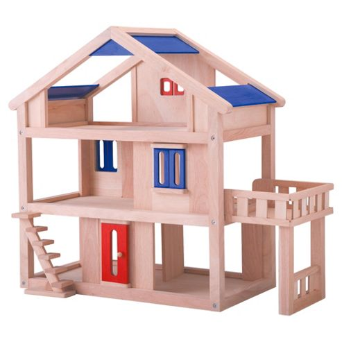 Plan Toys Doll House Wooden Toy With Terrace