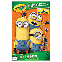 MINIONS GIANT COLOURING PAGES
