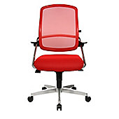 Topstar S'Move Operator 10 Swivel Chair in Red