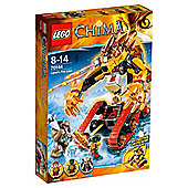 Lego Chima Laval's Fire Lion 70144