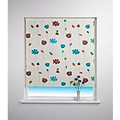Floral Trail Blackout Roller Blind