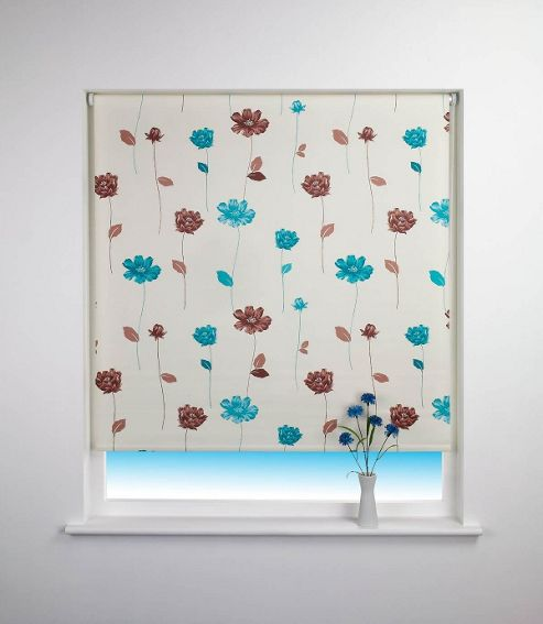 Buy Floral Trail Blackout Roller Blind From Our Roller